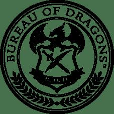 Bureau of Dragons seal black 1